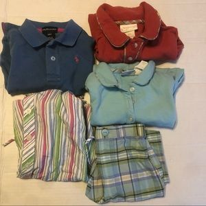 LOT 2T Girl's Clothing Dress Pants Onesies Tommy